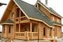 Дом из оцилиндрованного бревна - уют, престиж, красота