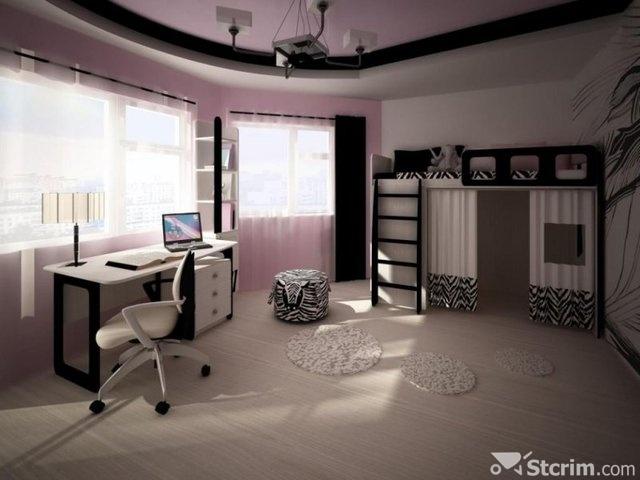шторы для комнаты девочки фото