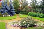 создать красивый сад