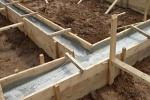 фундамент для строительства дома