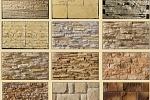 Виды и типы искусственного камня