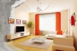 Эффектная отделка квартиры