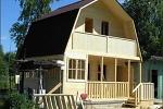 Дома из деревянного бруса