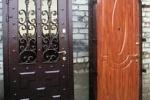 Бронированная арочная дверь