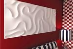 Гипсовые стеновые панели в интерьере