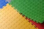 модульное напольное покрытие из ПВХ