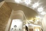 Монтаж точечных LED светильников