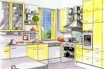 Обустройство кухни