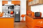 Оригинальные цвета мебели для кухни