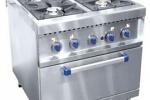 профессиональные газовые плиты