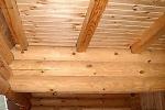 Ремонт деревянного потолка