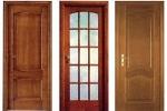 Разнообразие шпонированных дверей