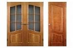 Выбор шпонированных дверей и технология их изготовления