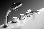 современные смесители для ванной