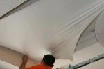 Технология установки натяжного потолка