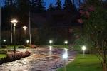 уличное садовое освещение