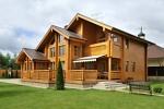 загородный дом из дерева