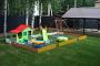 установка детской игровой площадки на приусадебном участке