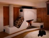 отопления дома дровами