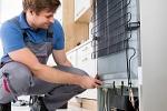 Ремонт холодильника с материалами