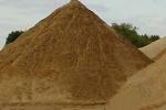 Использование песка и цемента