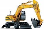Экскаваторы и бульдозеры на строительных работах