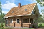 проекты строительства домов и коттеджей из дерева