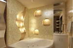 Освещение в ванной комнате