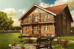 Деревянный дома