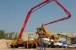 Применение бетононасосов