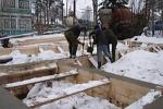 Бетонирование фундамента зимой
