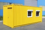 Преимущества строительных бытовок из блок контейнеров