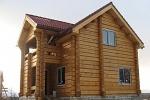 Достоинства и недостатки домов из лафета