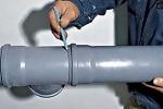 Герметизация канализационных труб