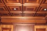 Кессонные потолки и стеновые панели из дерева