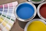 краски в оформлении интерьера