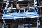 монтаж строительного подъемника