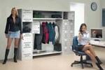 Офисный шкаф для одежды