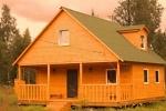 Популярность домов и бань из профилированного бруса.