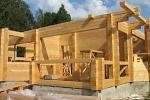 профилированный брус строительство дома
