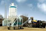 Производство бетона на бетонном заводе