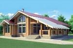 Современные деревянные дома из бруса