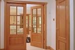 Выбор деревянных межкомнатных дверей
