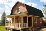 строительство дачных домов из профилированного бруса