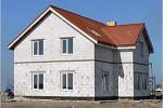 Загородный дом из пенобетона