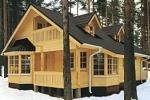 Недорогие деревянные дома из бруса