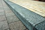 тротуар и бордюр из натурального камня