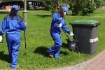 уборка территорий от мусора