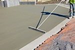 укладка бетонного пола