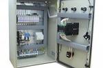 Управление приточной вентиляцией, щит управления